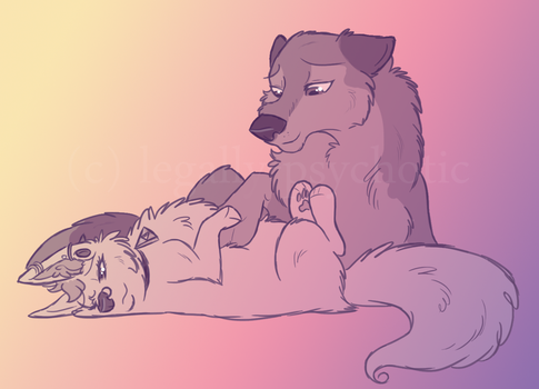: she keeps me warm : by legally-psychotic