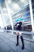 Secret Police - Hatsune Miku - Vocaloid by Pugoffka-sama