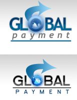 Global Payment logo design by lucidreamz