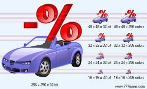 Automobile loan interest payme by money-icons