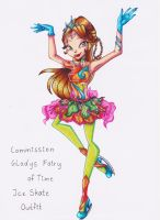 COM: Gladys, Fairy of Time on Ice by Kleiner-Schmetterlin