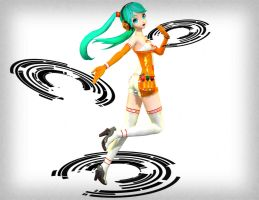 Racing Miku 2010 by sailor-rice