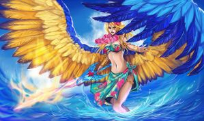 Lol - Summer Kayle by Enijoi