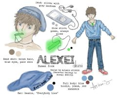Full ref- Alexei [contest entry] by DaggarHeart