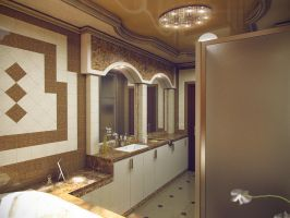 bathroom by PavelLi86