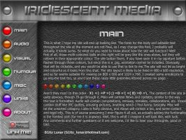 Iridescent Media Site Preview by b1itz-lunar