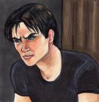 Damon Salvatore by Beatreen