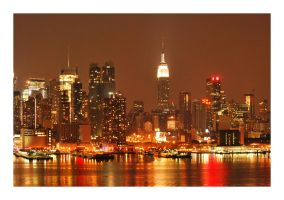 New York Lights by stephkaz