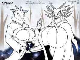 [Rule 63] Specimen 8 and Kyrkogrim by wsache2020