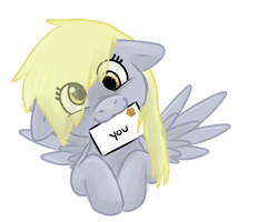 I brought you a letter!! by TheSilliestWilly