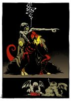 20 Years of Hellboy art contest  submission by MouseCityKola