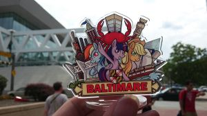 Baltimare in Baltimore by SouthParkTaoist
