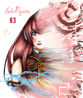 Luka Megurine by eli ferre by BlackBerry007