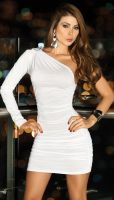 White Minidress by PrettyPrincessJane