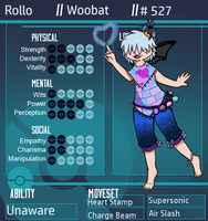 PP: Rollo RPG Sheet by EdenHall