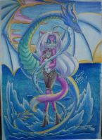 COM:Water Warrior by Silena-Chaos
