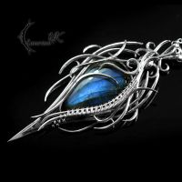 IMITHNAR - silver and labradorite. by LUNARIEEN