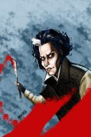 Sweeney Todd by hcnoel