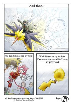 Sonichu Remake Issue 0 - 24 by gabmonteiro9389