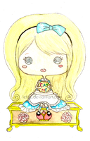 Chibi Alice by Litchling