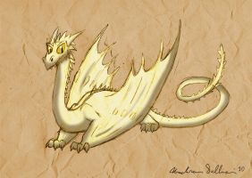 Dangerous Whiptail Dragon by 9CentsChange
