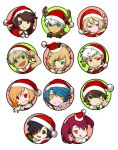 PQ-Styled Christmas-Themed icons-- by ryuuen