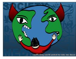 Conflicting World United..... by ispec