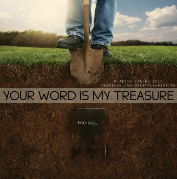 Your Word is my treasure by kevron2001