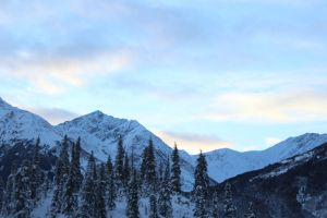 Alaska Mountains 6 by xdancingintherain