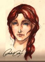 Catelyn Tully by duhi