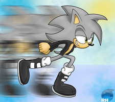 CE: Somber The Hedgehog by Rock-Hog