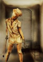SilentHill Digital Painting by GaryMcLoughlin