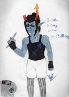 Simple Equius Picture by WeirdnessMaster25