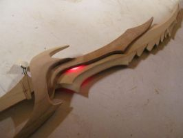 Daedric sword- Preview by fevereon