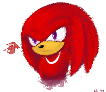 knuckles!! by Puple-Chaos