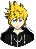 'The number XIII, Roxas' by Rebeka-KH