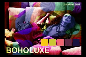 BOHOLUXE . inspiration collage by lrenah