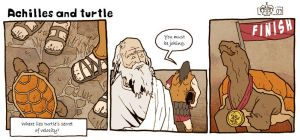 Achilles and turtle by Eldahast