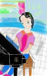 The Piano Girl by Diako-intrests