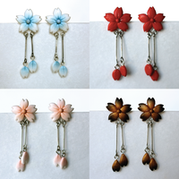 Sakura Blossom Earring 4 Colors by PaleMint