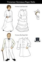 Victorian Paper Dolls by alicelights