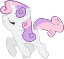 Sweetie Belle - Pretty Prancer by Creshosk