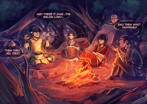 Campfire stories... by moni158
