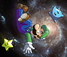Super Luigi Galaxy? by ChetRippo