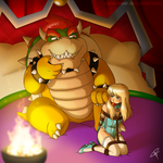 Commission - Bowser and Jessie2 by ClaraKerber