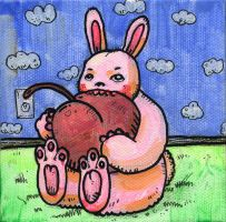 Pink Rabbit by MBLASTER