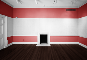 Empty Room - Red and White by Quryous