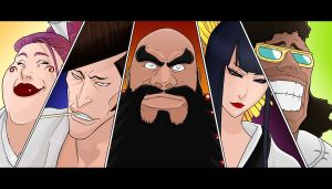 Bleach 516-Zero Squad by Salty-art