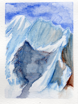 Watercolor #2- Think Like a Mountain by SETIEM-13