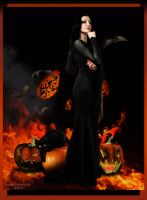 Morticia by robhas1left